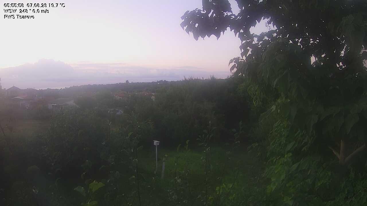 Царево времето уеб камера панорама, вилна зона Free-WebCamBG